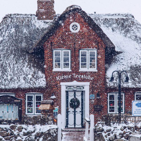 Sylt im Winter: Ein weißes Wintermärchenin Keitum