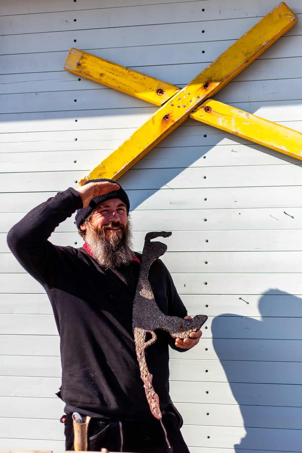 Porträt Bo Duenenstrauss List auf Sylt