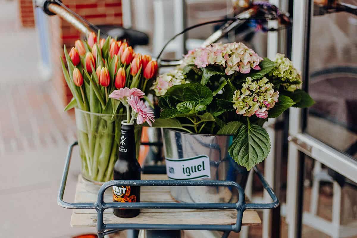 Crêperie am Meer Westerland Demo Blumen