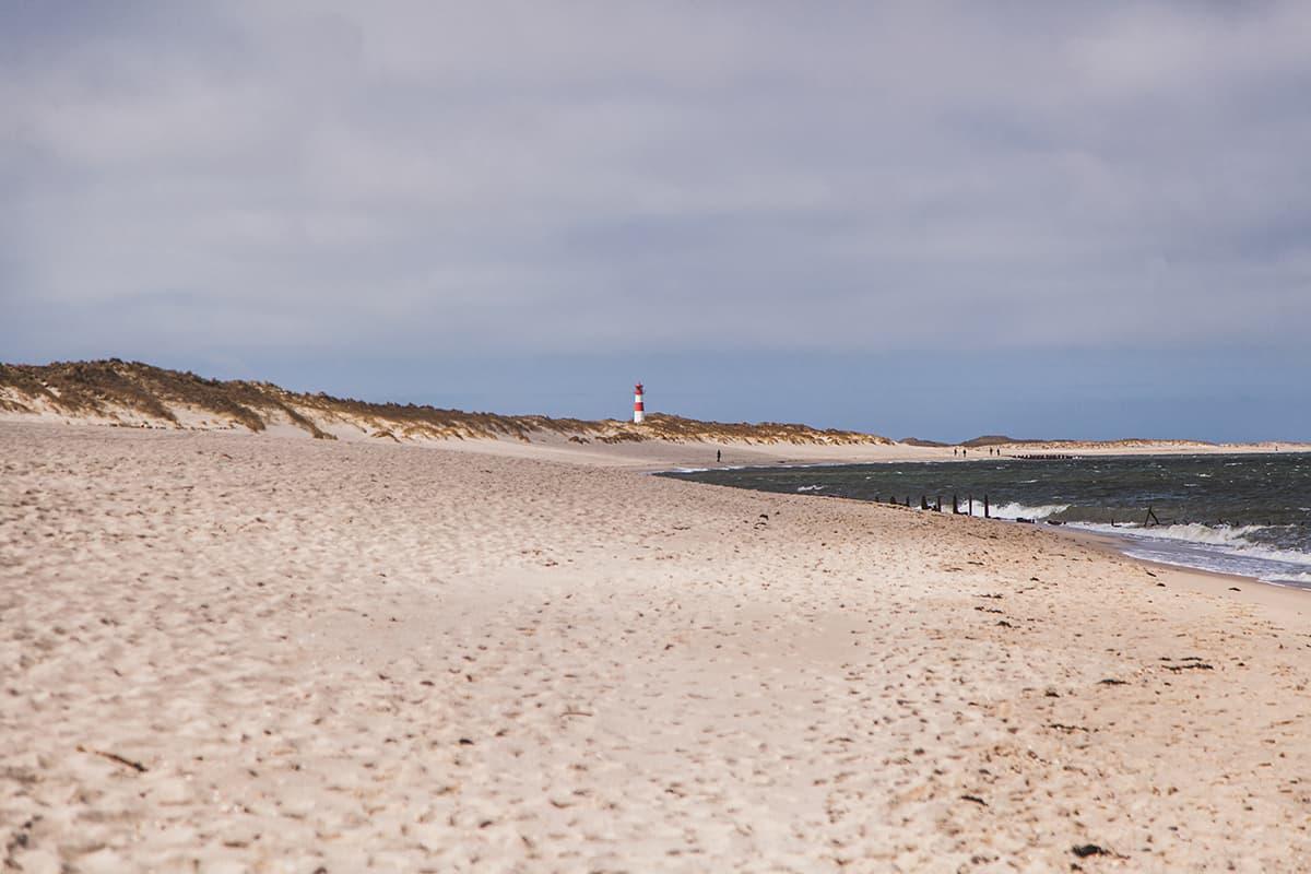 Ellenbogen Strand List auf Sylt