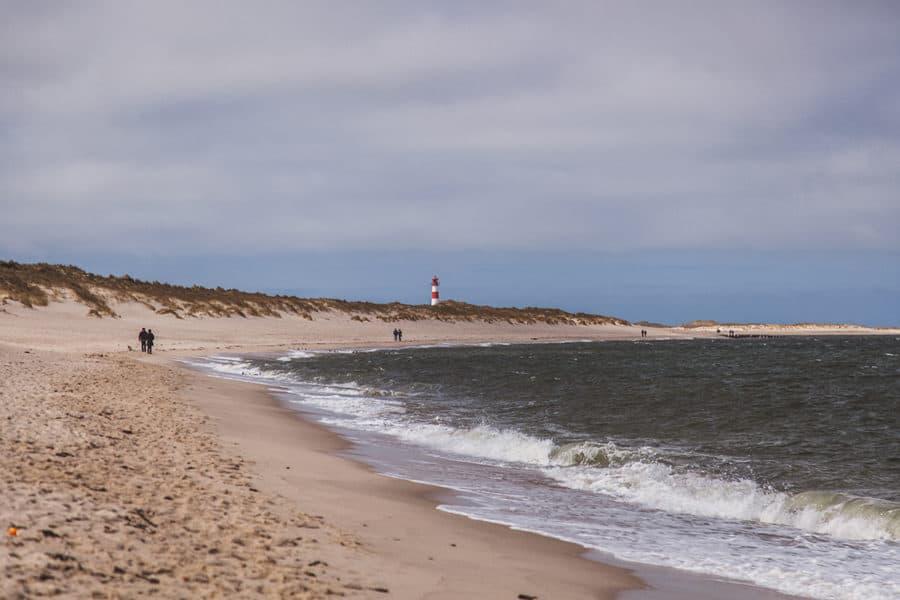 Ellenbogen List Strand Leuchtturm
