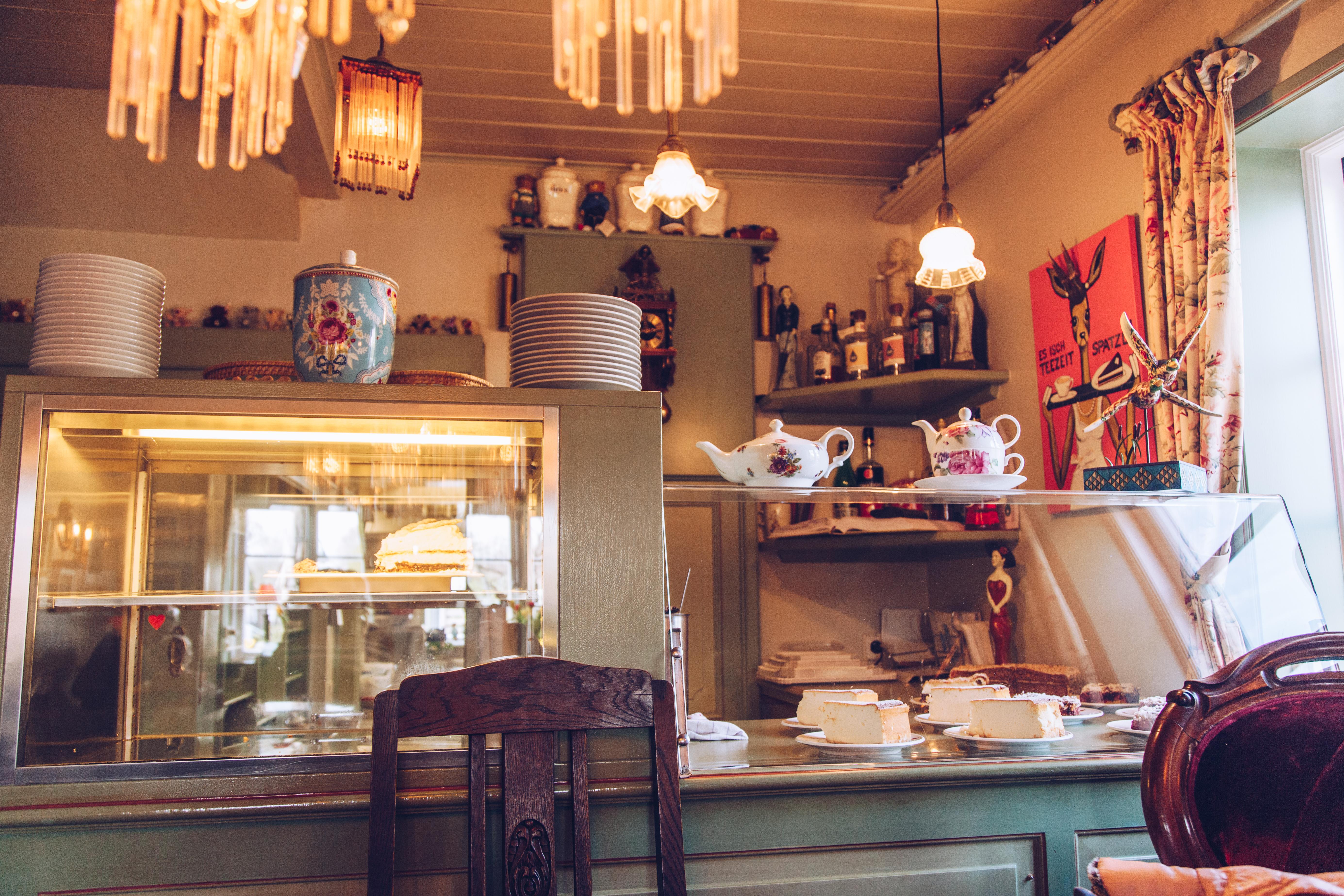 Kleine Teestube in Keitum auf Sylt