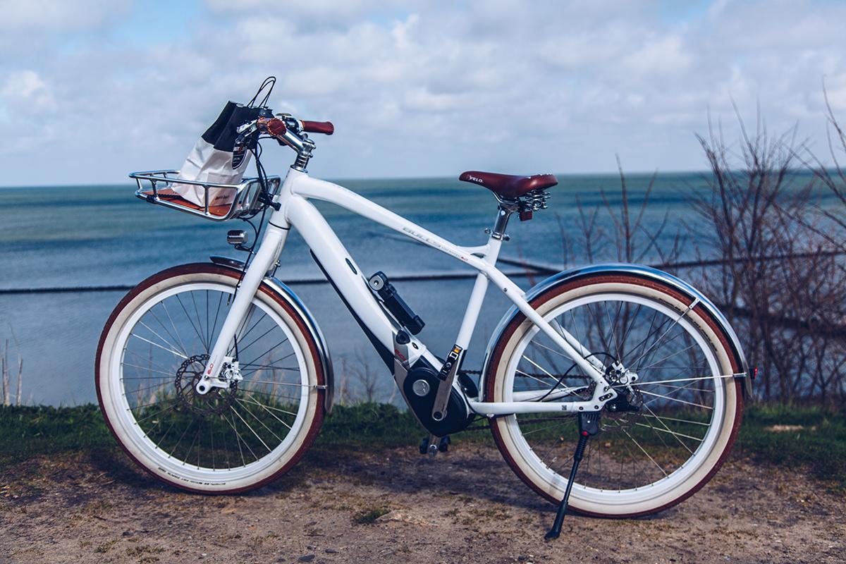 Eine Fahrradtour mit der EBIKE Sturmflotte von Westerland nach Keitum. Sturmvogel