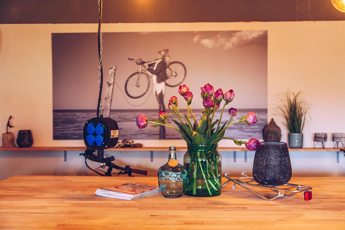 Eine Fahrradtour mit der EBIKE Sturmflotte von Westerland nach Keitum.