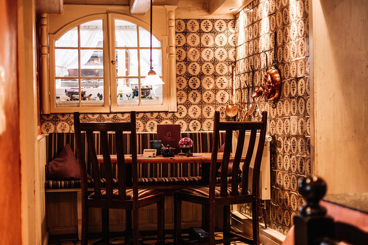 Cafés auf Sylt: Kupferkanne in Kampen Innenraum