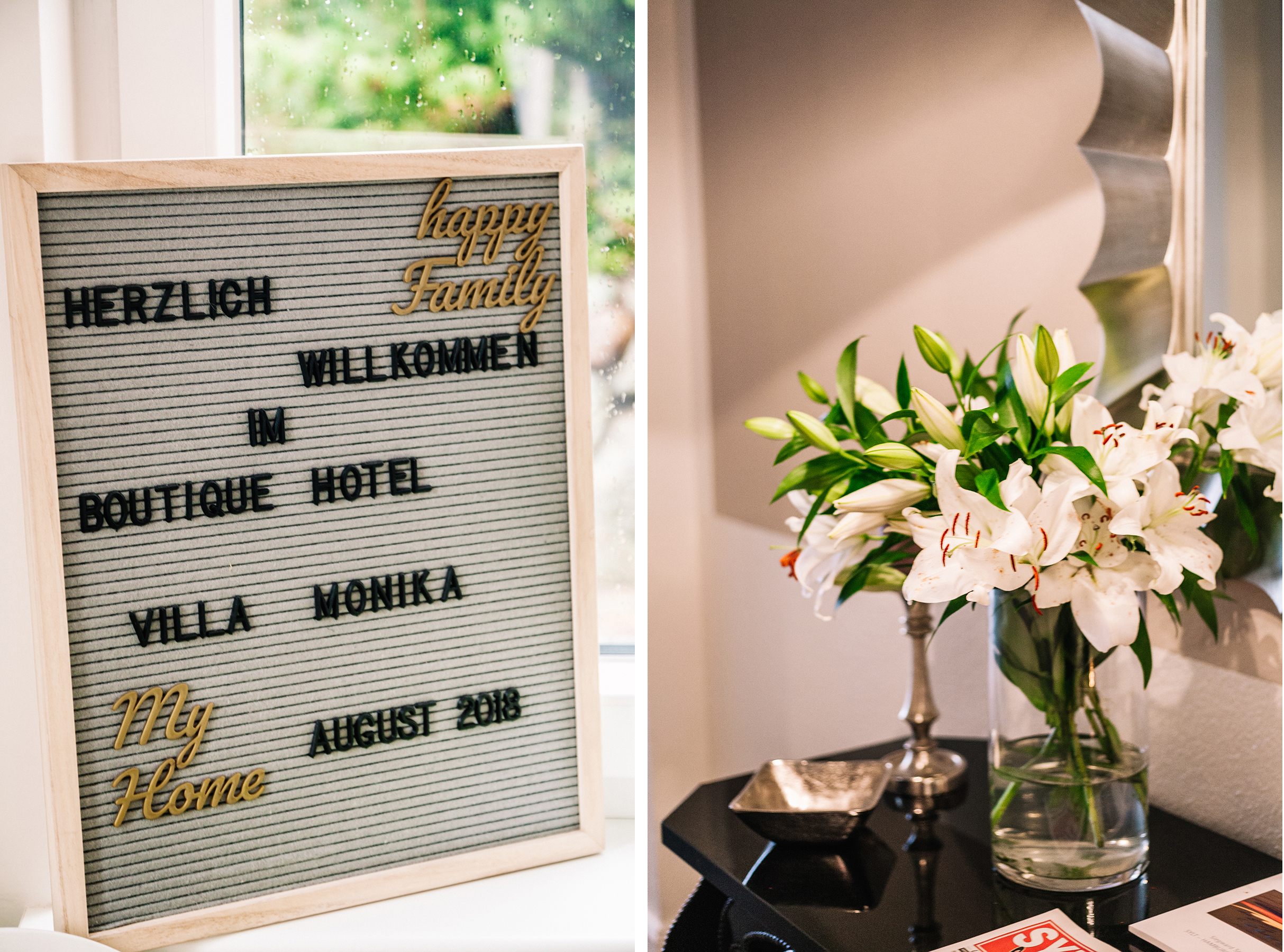 Das neue Boutique Hotel Villa Monika in Westerland auf Sylt ist ein echter Geheimtipp. Persönlicher Service trifft auf individuelles Design und Strandlage.