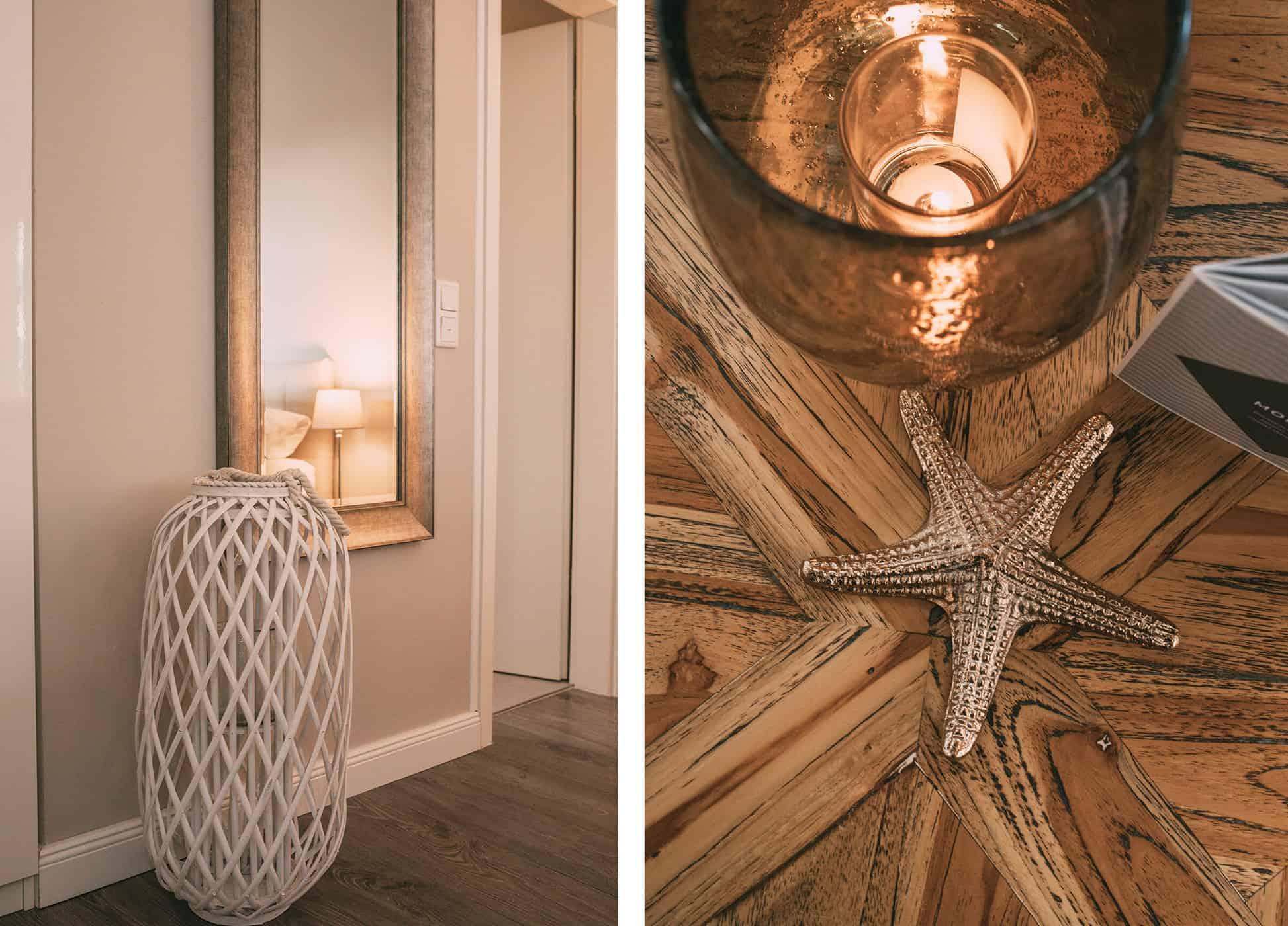 Das neue Boutique Hotel Villa Monika in Westerland auf Sylt: Doppelzimmer Rosa Lilie