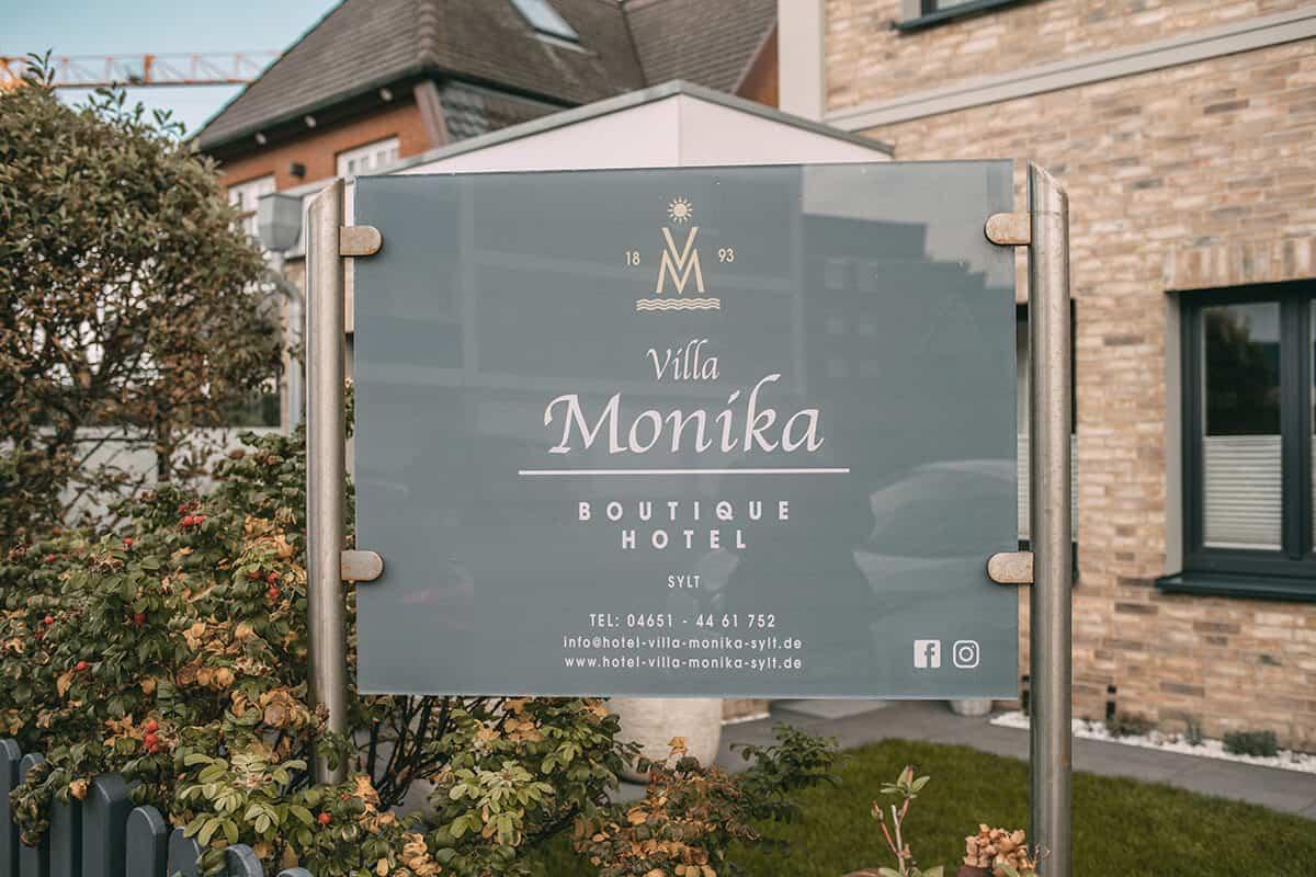 Das neue Boutique Hotel Villa Monika in Westerland auf Sylt