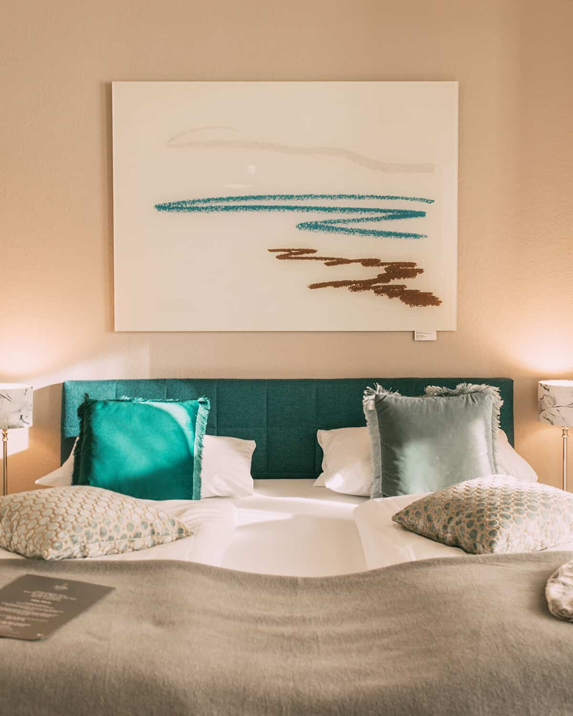 Das neue Boutique Hotel Villa Monika in Westerland auf Sylt: Suite Meerlavendel