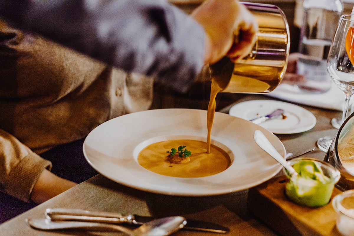 Restaurant Siebzehn84 Sylt Landhaus Stricker