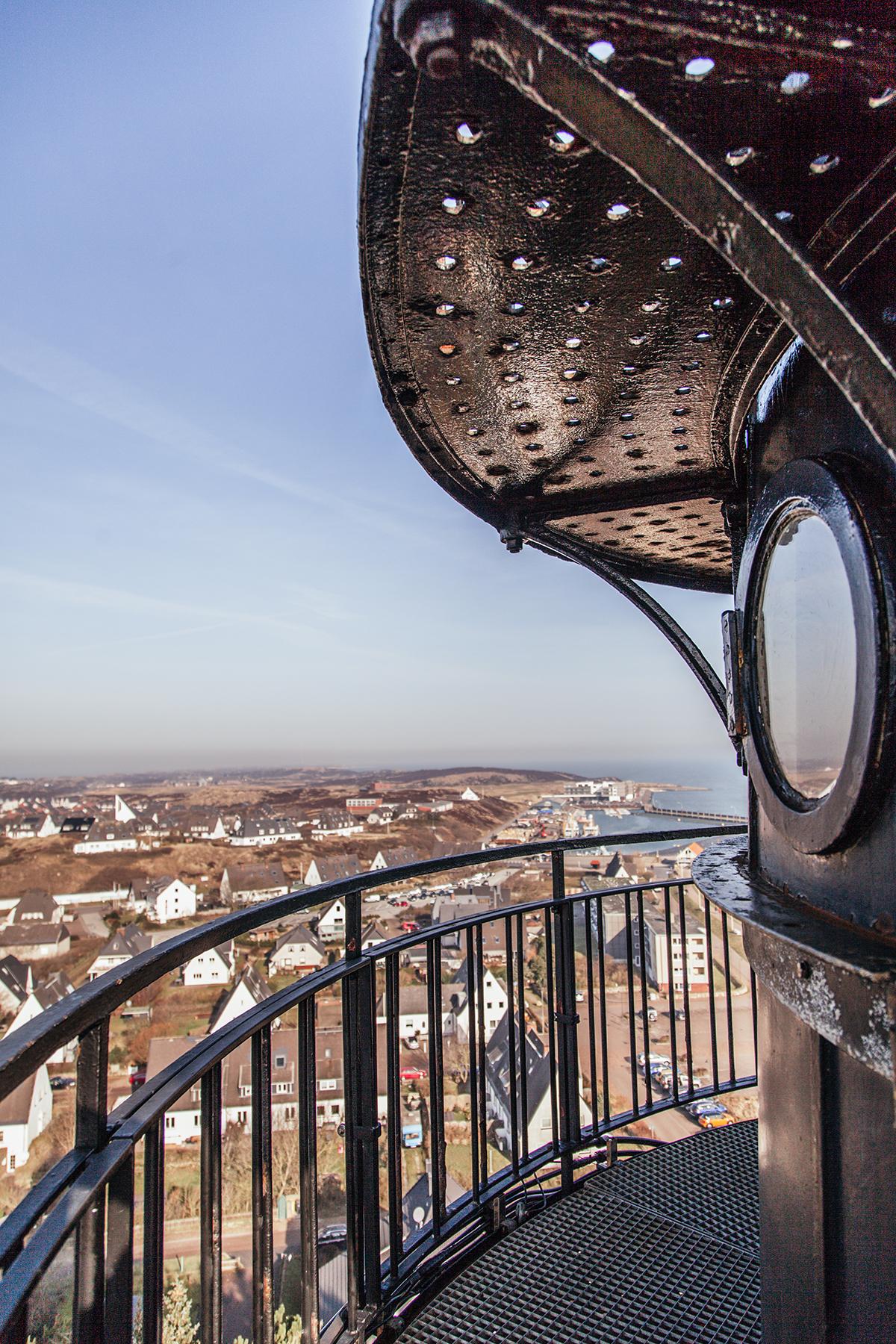 Aussicht vom Leuchtturm Hörnum
