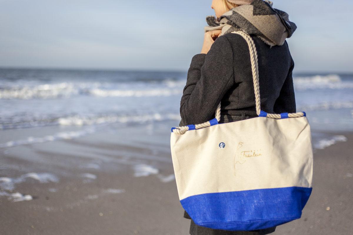 Sylt Fräulein Strandtasche