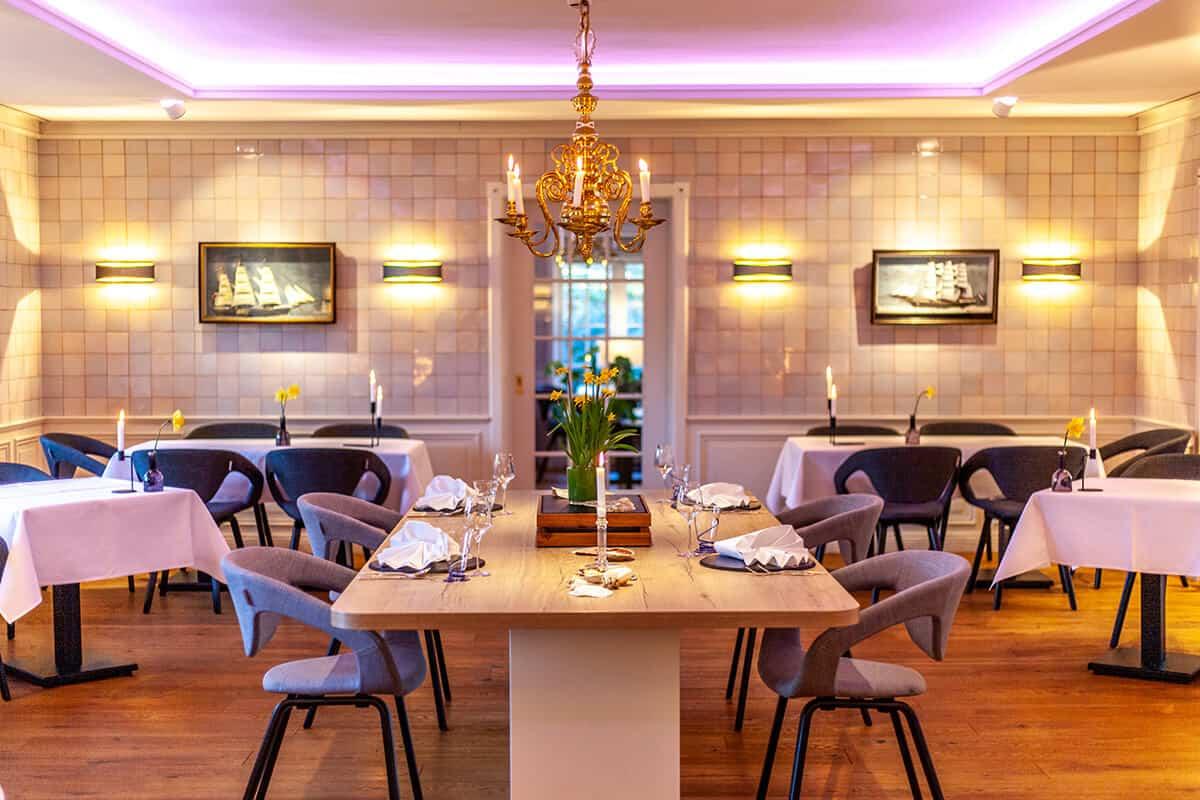 Benen-Diken-Hof Keitum Sylt: Hotel, Restaurant Kokken