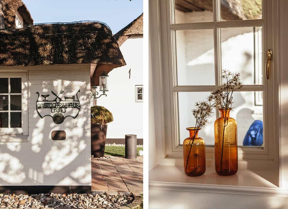 Benen-Diken-Hof Keitum Sylt: Hotel, Restaurant, Spa_ Eingang