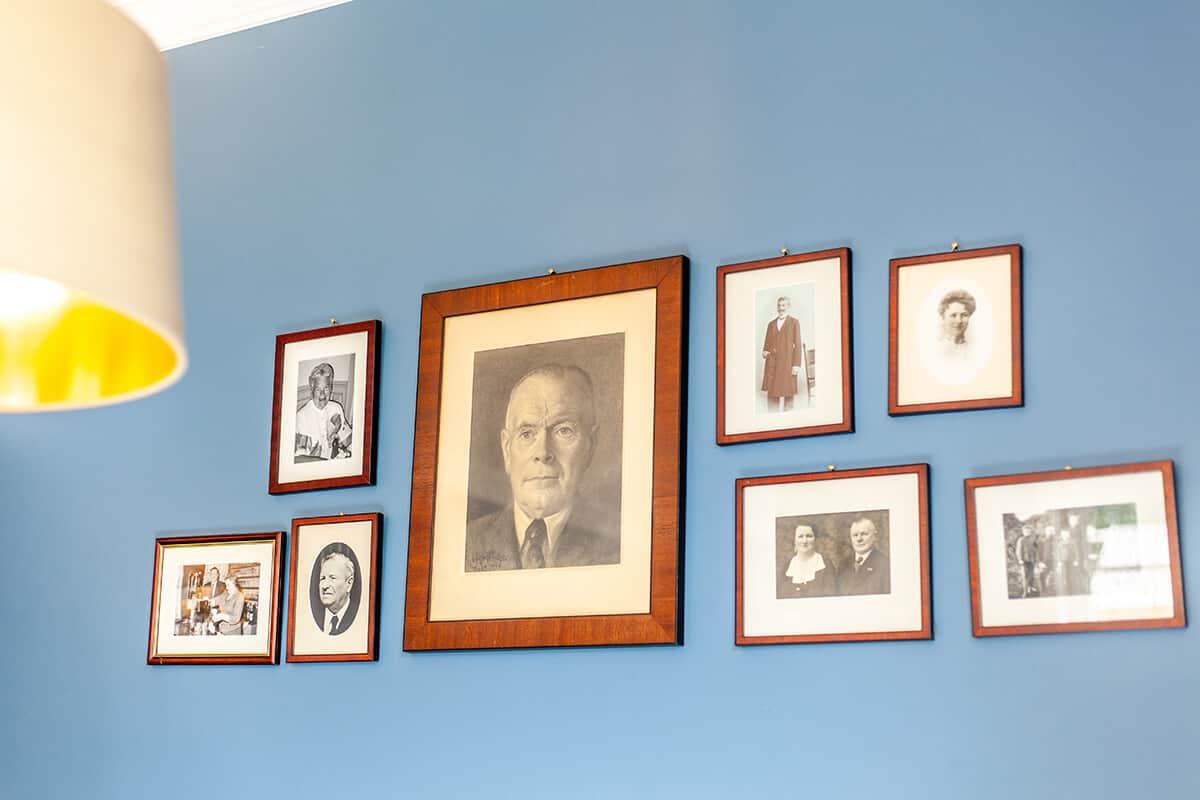 Porträts Familie Hansen List