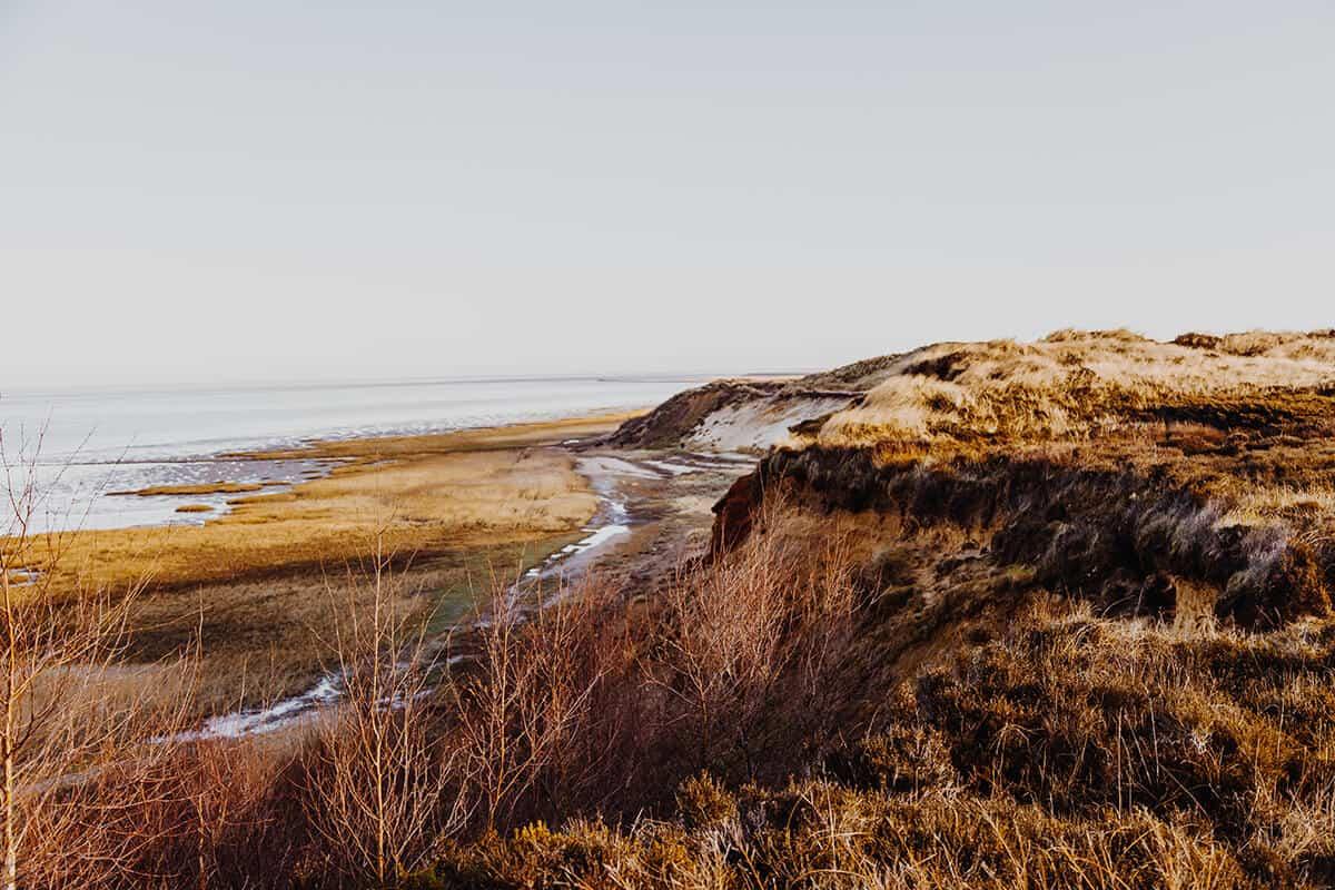Blick auf das Morsum Kliff