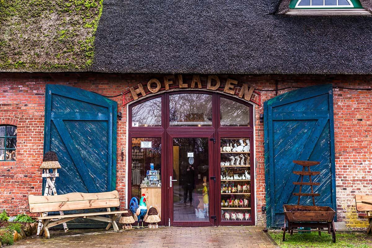 Hofladen auf dem Hansenhof in Morsum