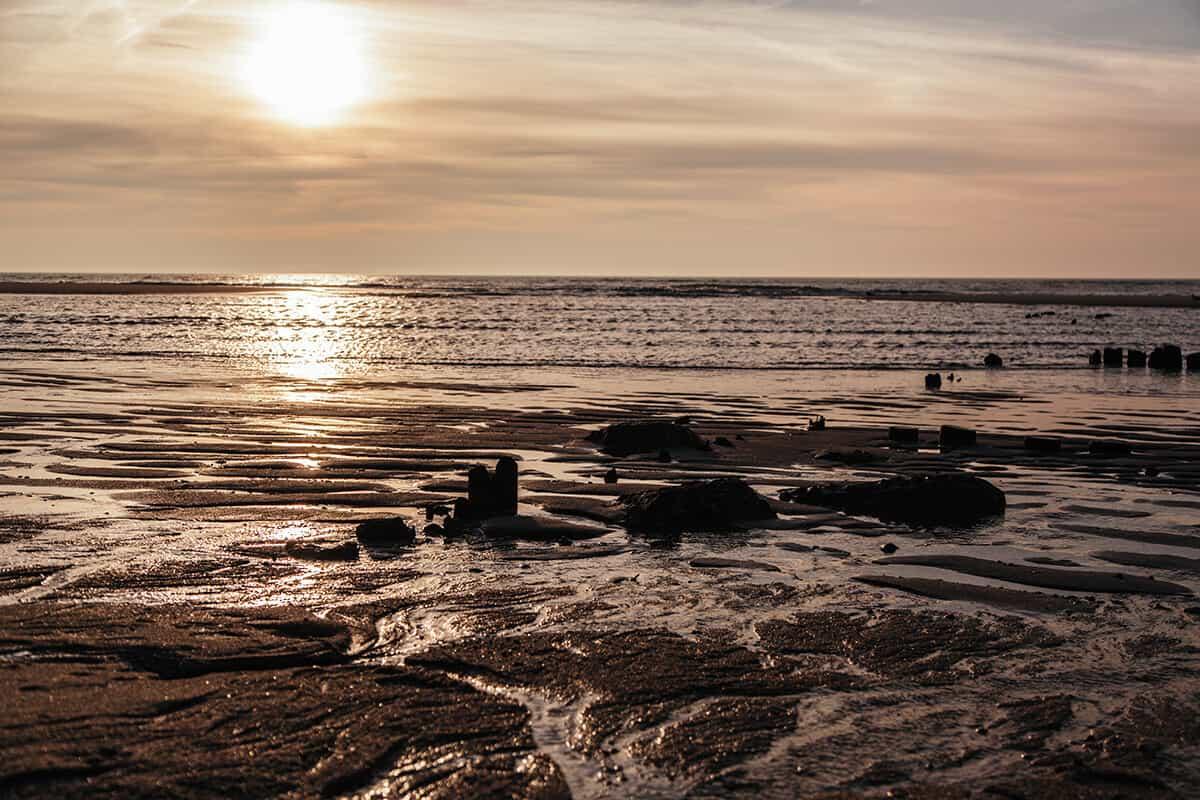 Rantum-Guide mit tollen Tipps: Weststrand Sonnenuntergang