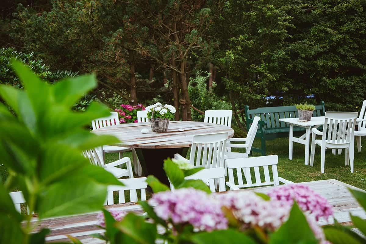 Terrasse Restaurant Königshafen