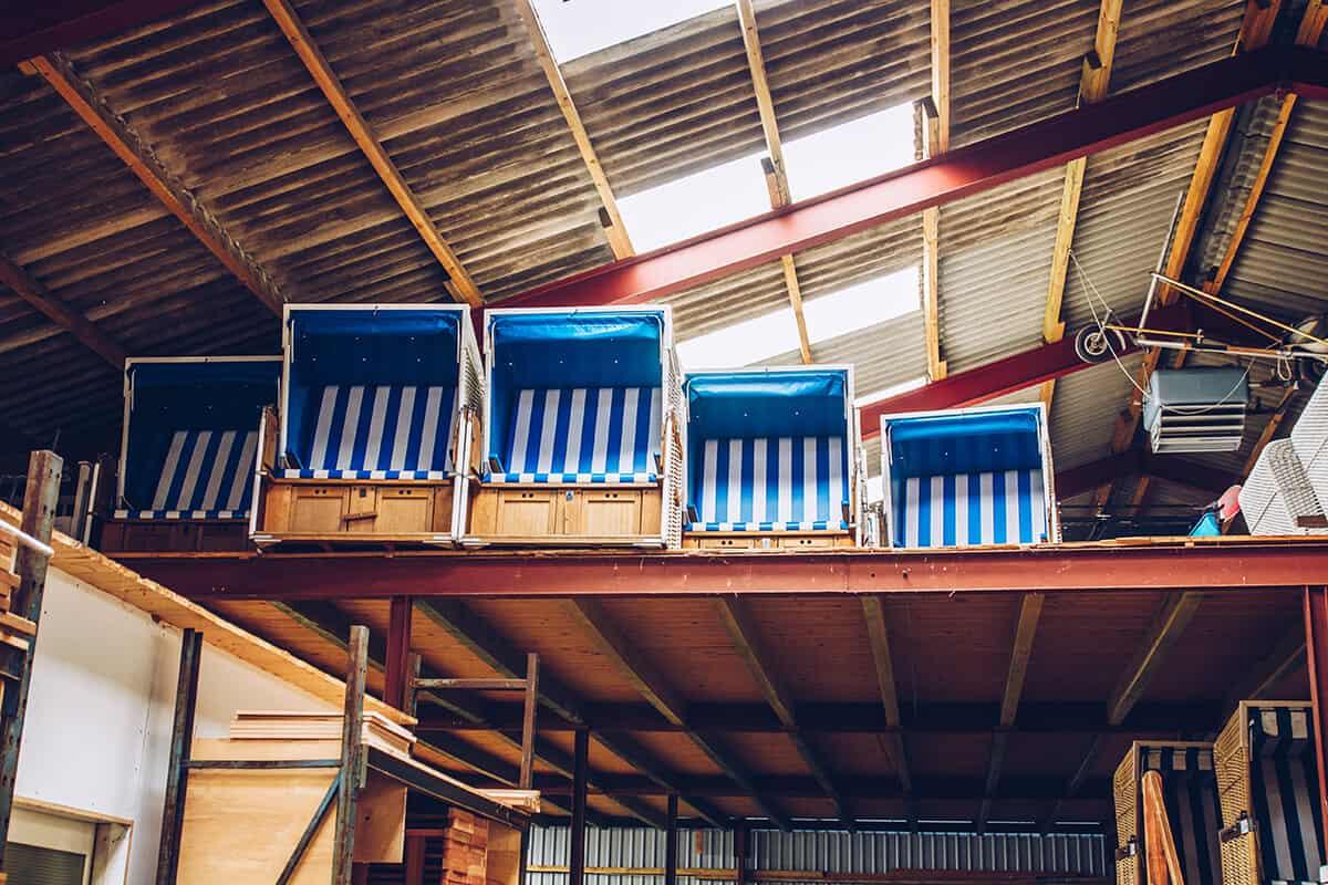 Rantum-Guide mit tollen Tipps: Strandkorbmanufaktur