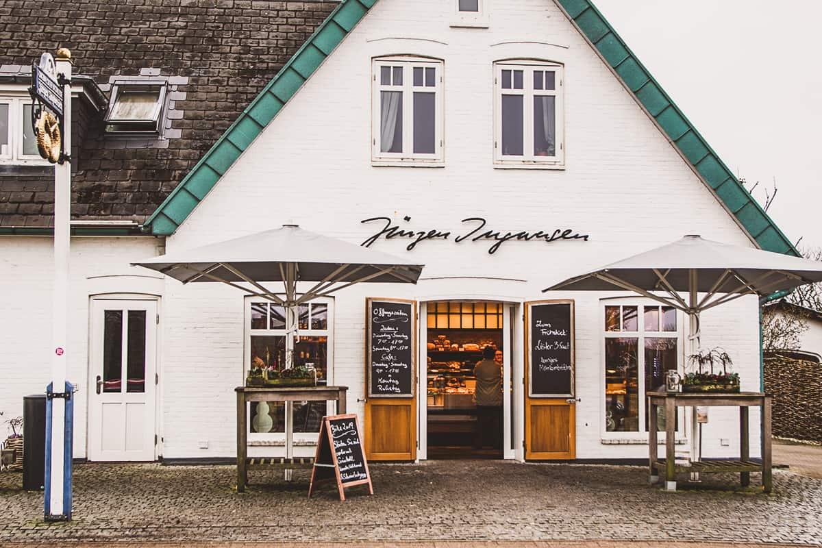 Café Ingwersen Morsum Außenaufnahme