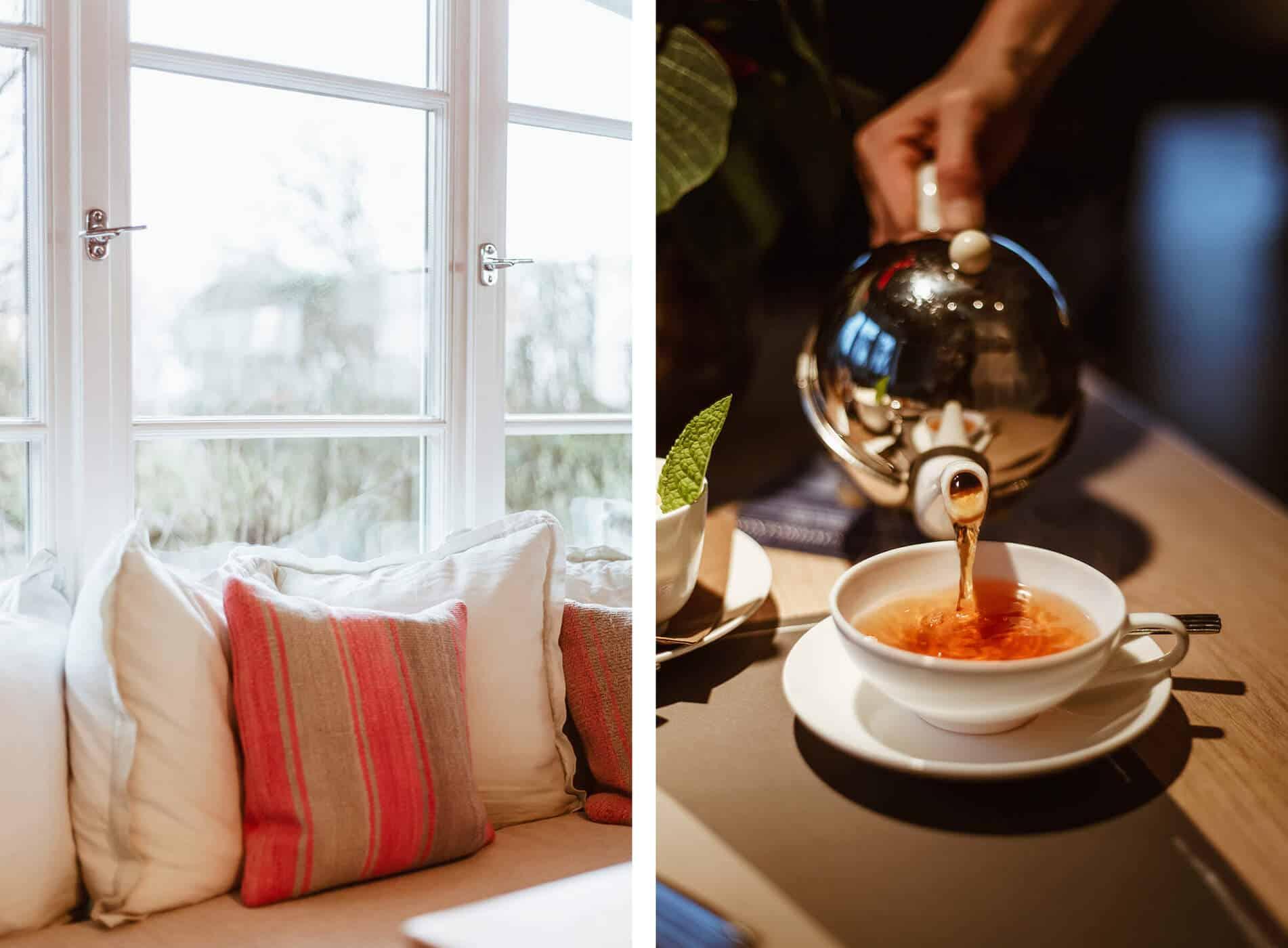 Cafés auf Sylt: Tee trinken im Kontorhaus in Keitum im Teeraum