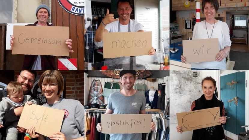 Bye Bye Plastik Sylt: 16 Sylter Unternehmen machen mit