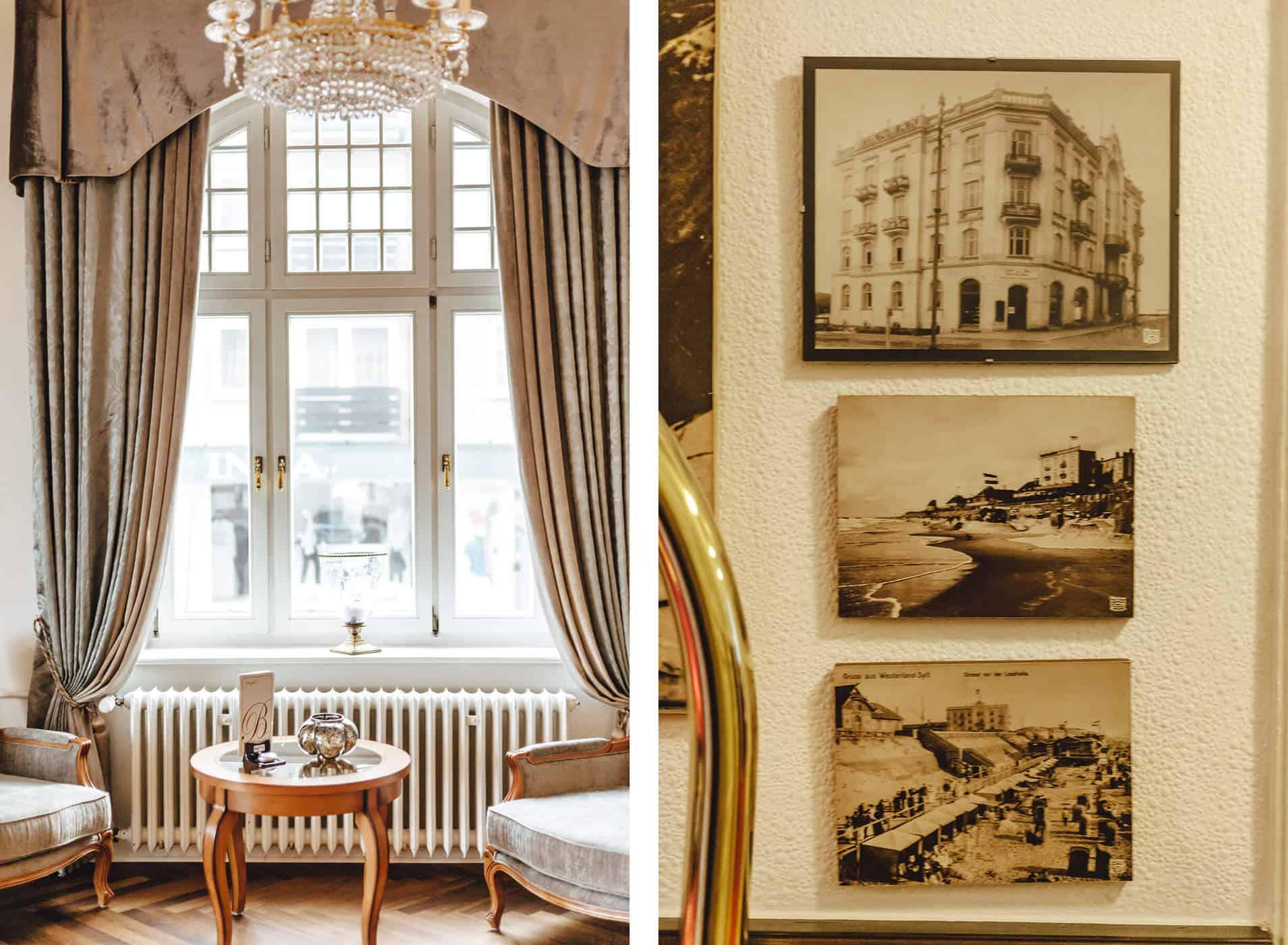 Hotel Miramar Aussenansicht Westerland auf Sylt Geschichte