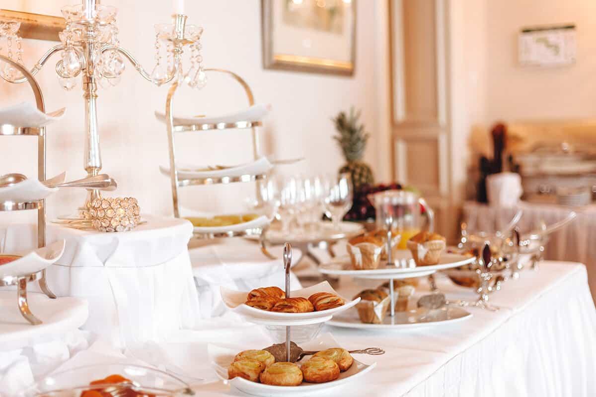 Hotel Miramar Westerland auf Sylt Frühstück