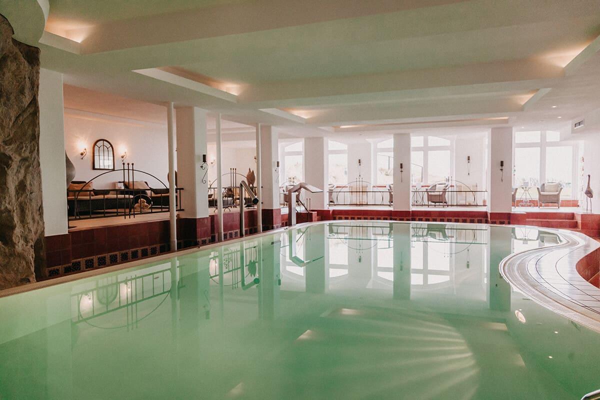 Hotel Miramar Westerland auf Sylt Spa-Bereich Pool
