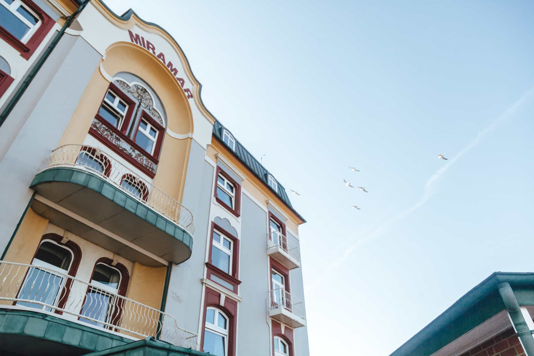 Hotel Miramar Aussenansicht Westerland auf Sylt