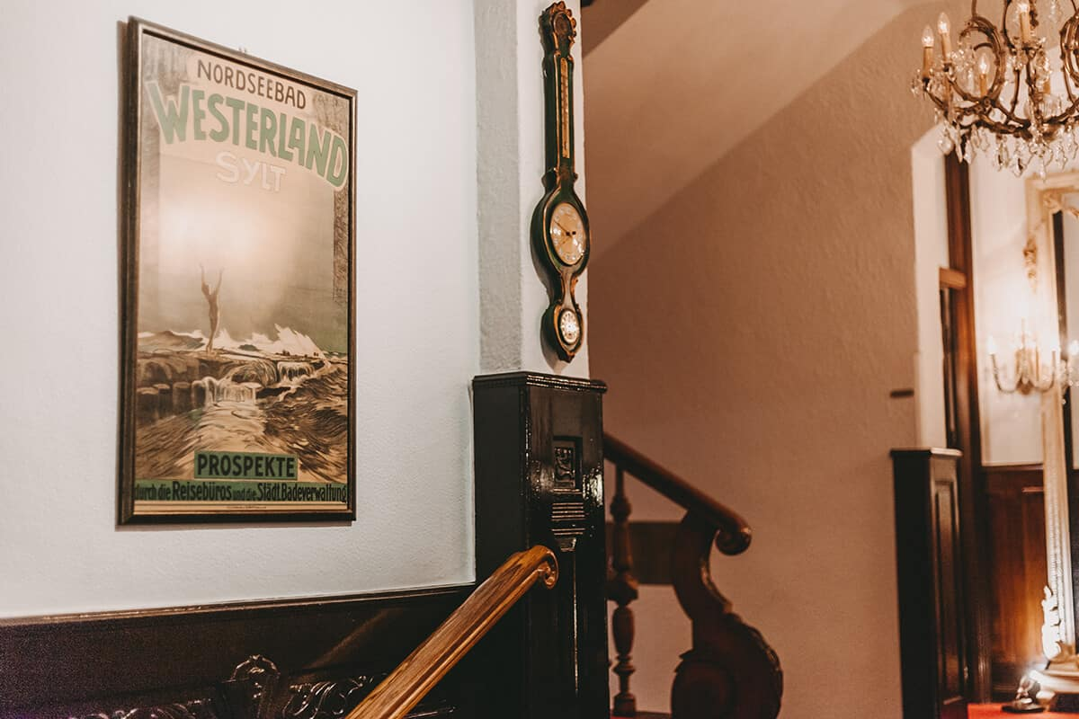 Nordseebad Westerland historischer Kunstdruck