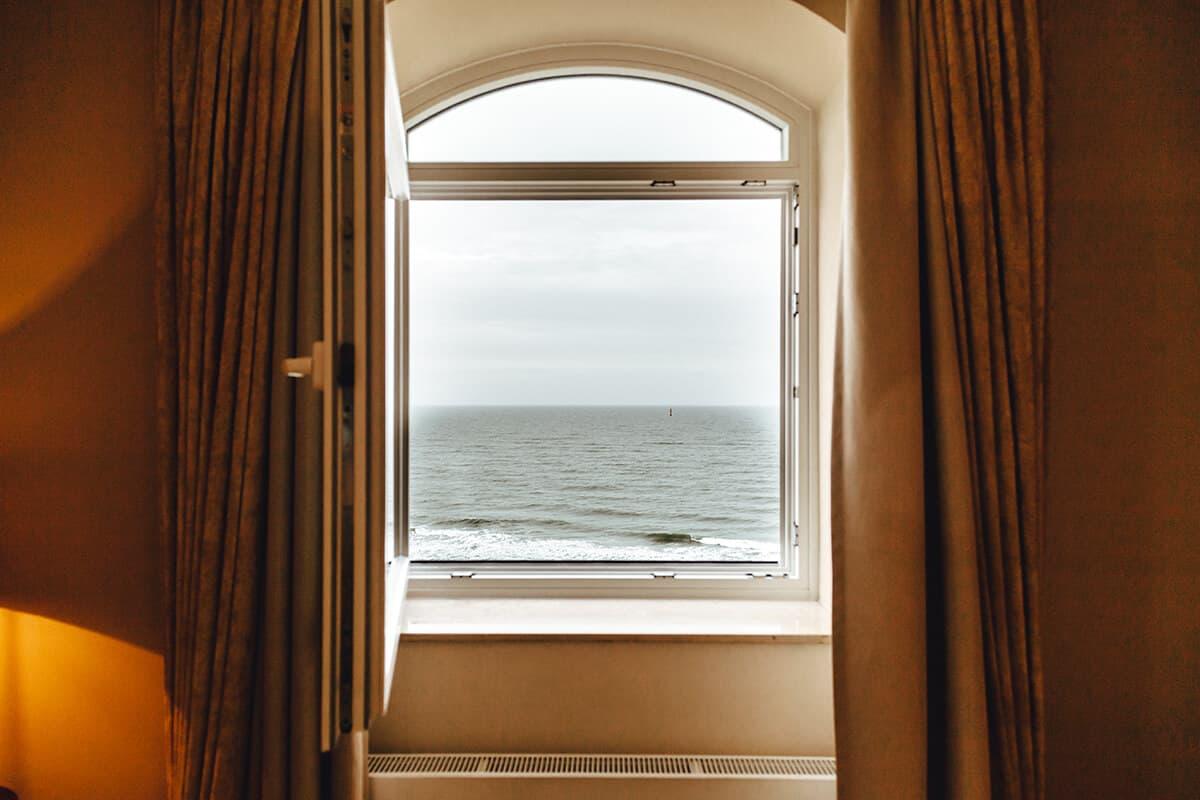 Hotel Miramar Westerland auf Sylt Suite Ausblick