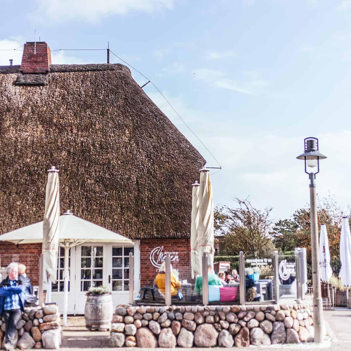 Kaamp Meren Kampen Restaurant Außenaufnahme