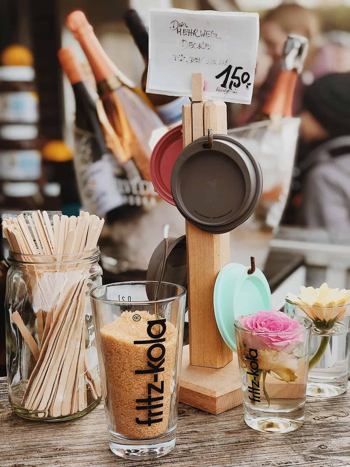 Bye Bye Plastik Sylt: RECUP Mehrweg Deckel für Coffee-to-go