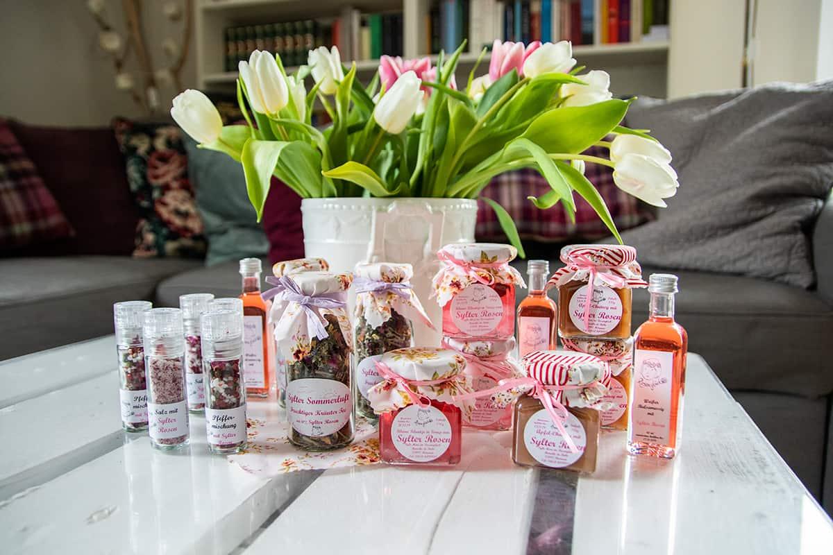 Sylt-Mari im Rosenglück Produkte