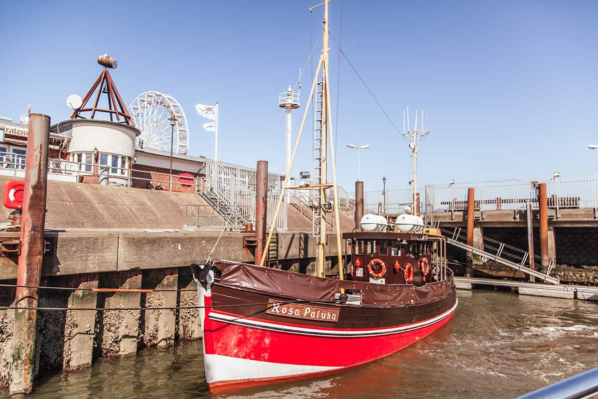 Ausflugskutter List Hafen