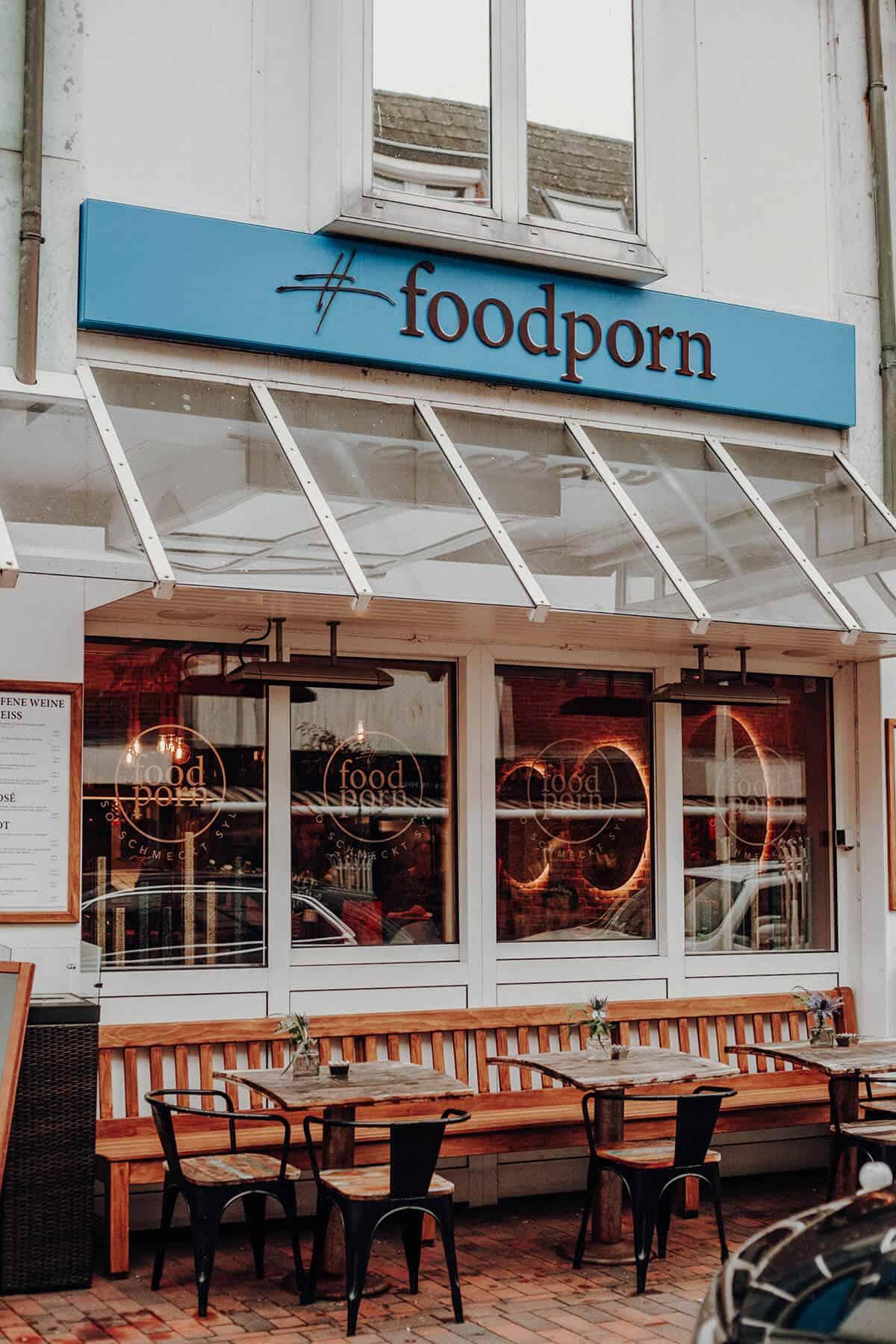 Bistro #Foodporn Westerland neu Aussenansicht