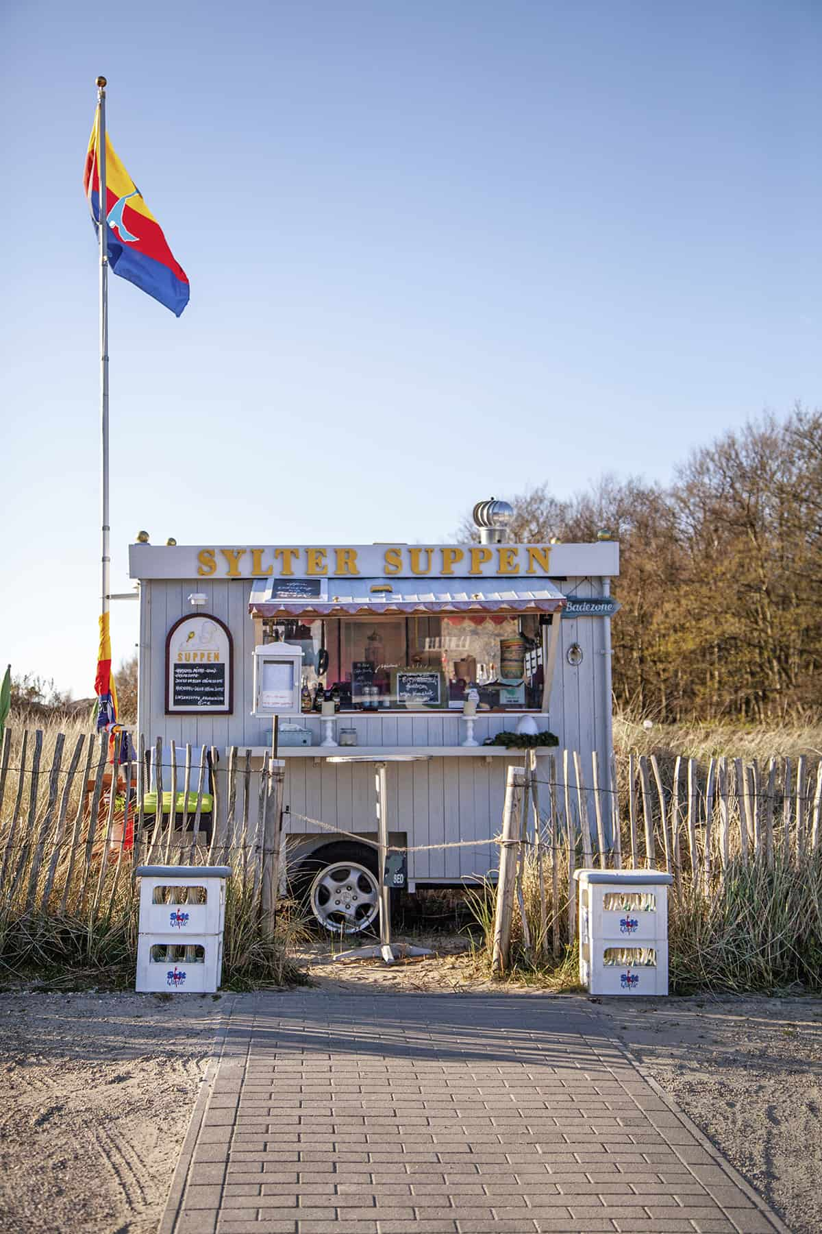 Sylter Suppen Wagen List auf Sylt