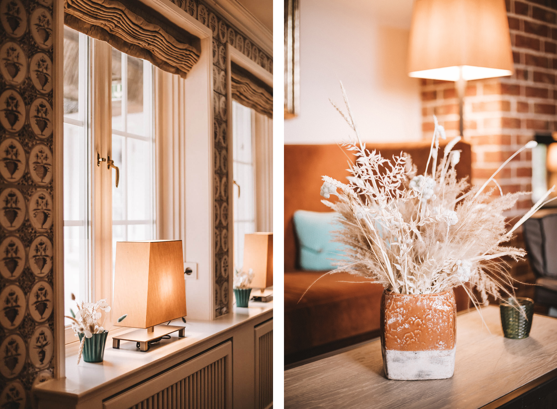 Benen-Diken-Hof Keitum Sylt: Hotel, Restaurant, Spa_ Fliesen, Demo, Trockenblumen