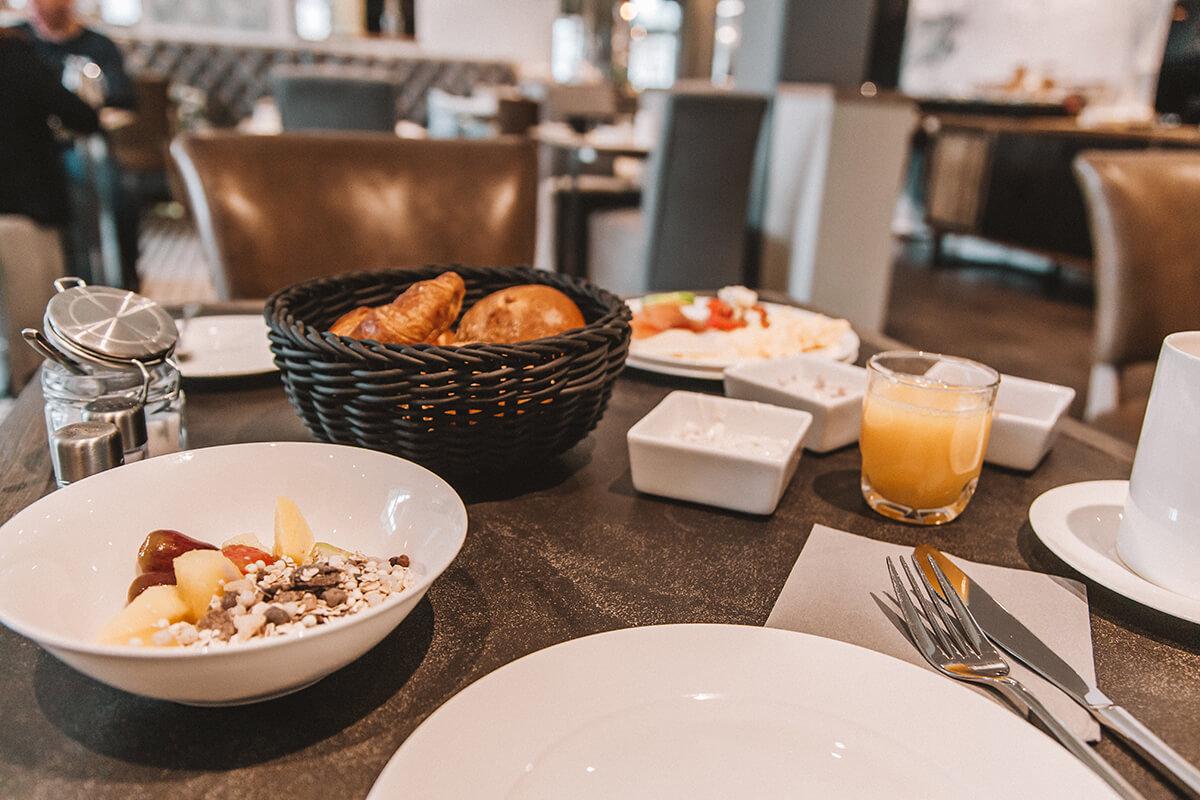 Frühstück Hotel easy living