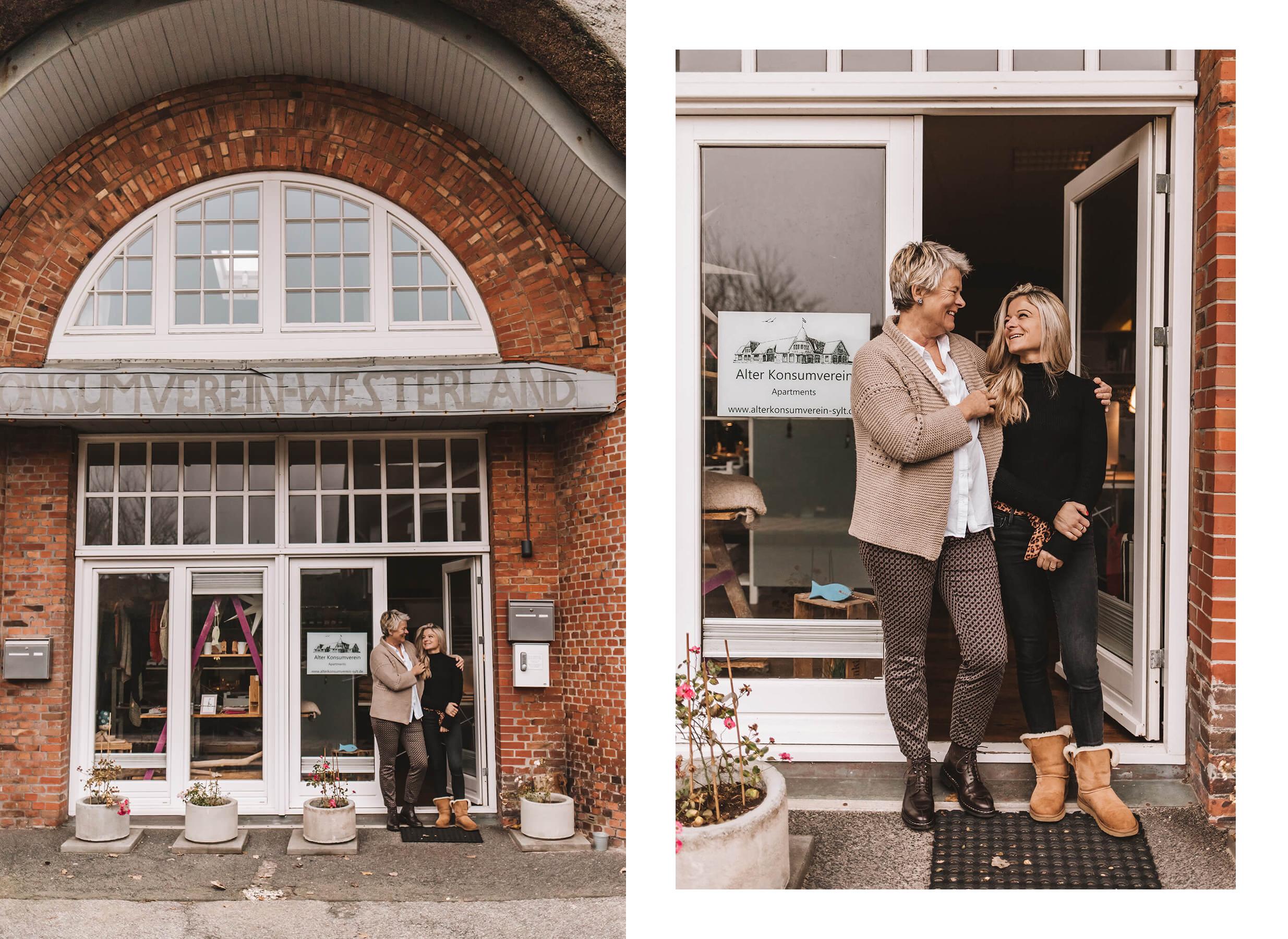 Alter Konsumverein: Apartment-Vermietung in Westerland - Uta und Lisa