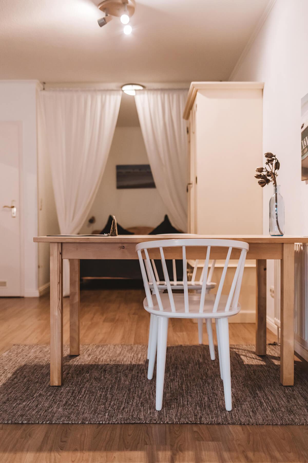 Alter Konsumverein: Apartment-Vermietung in Westerland