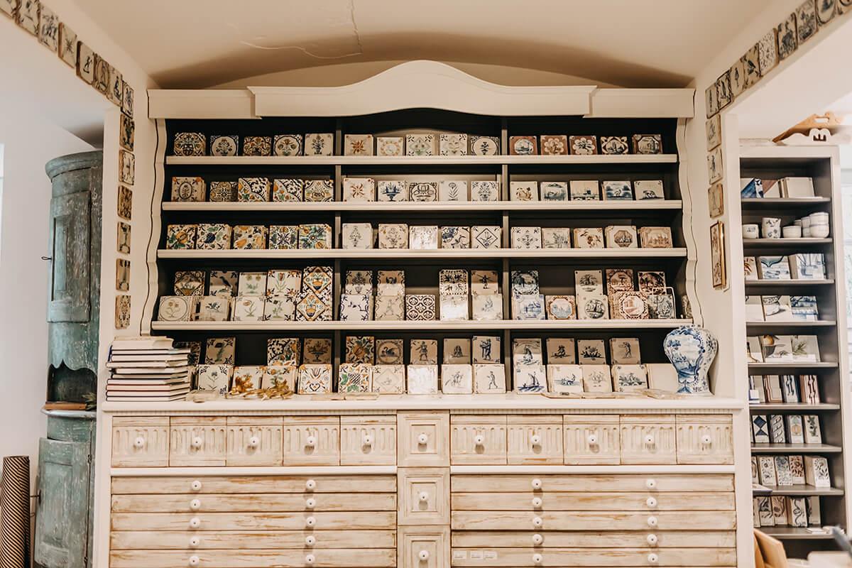 Mylin Interieurs in List: Historische und reproduzierte Fliesen