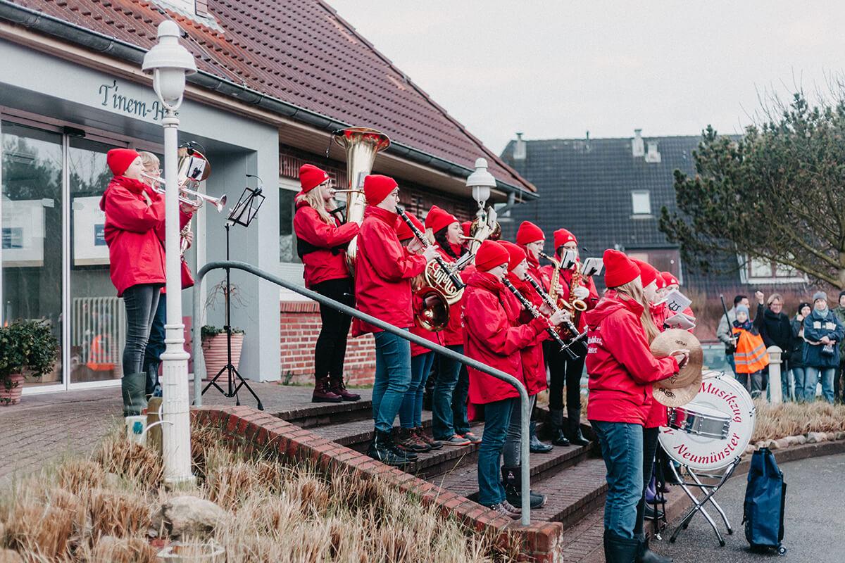 Biikebrennen auf Sylt: Tinnum, Kapelle