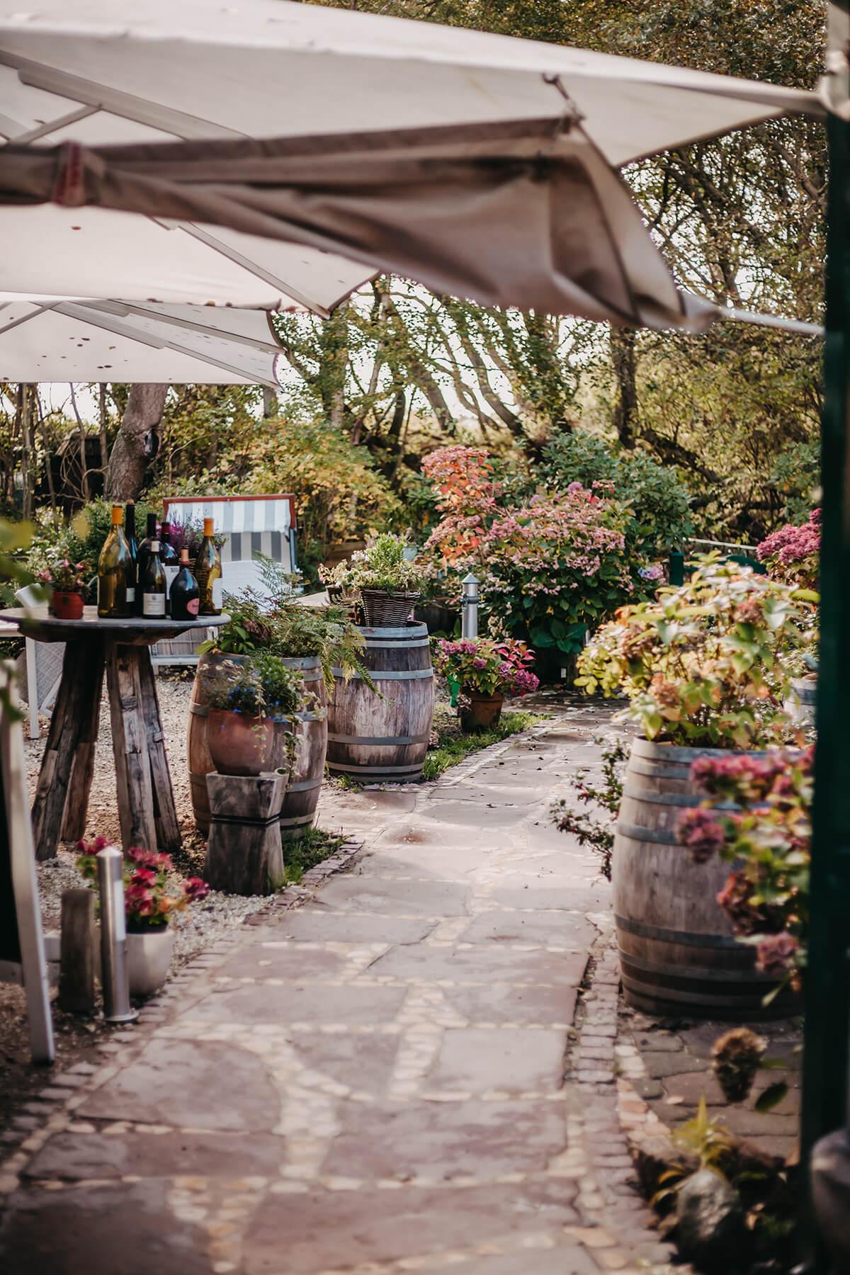 Restaurant Vogelkoje: Gartenterrasse