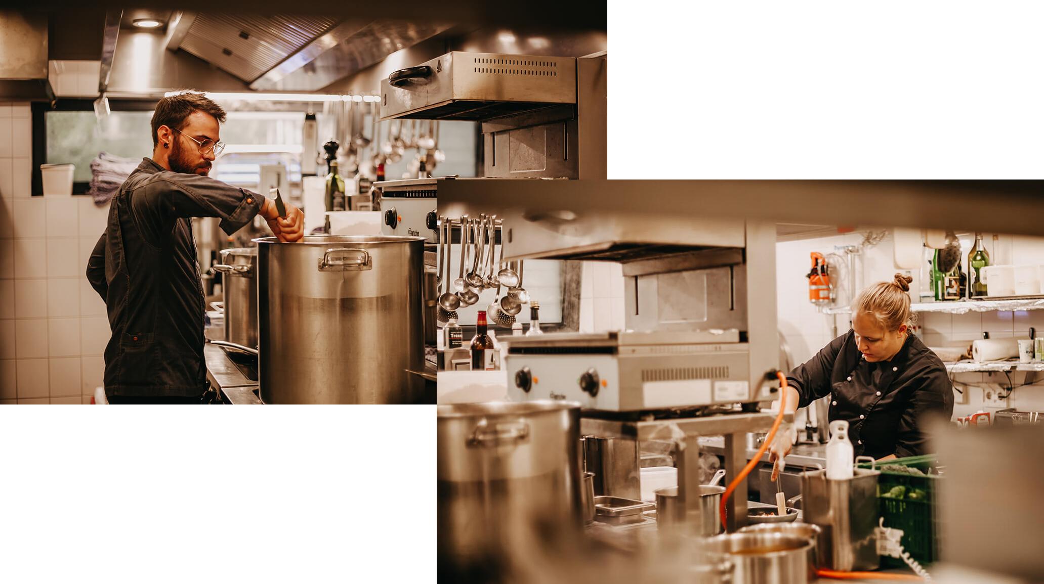 Restaurant Vogelkoje: Regionale Küche