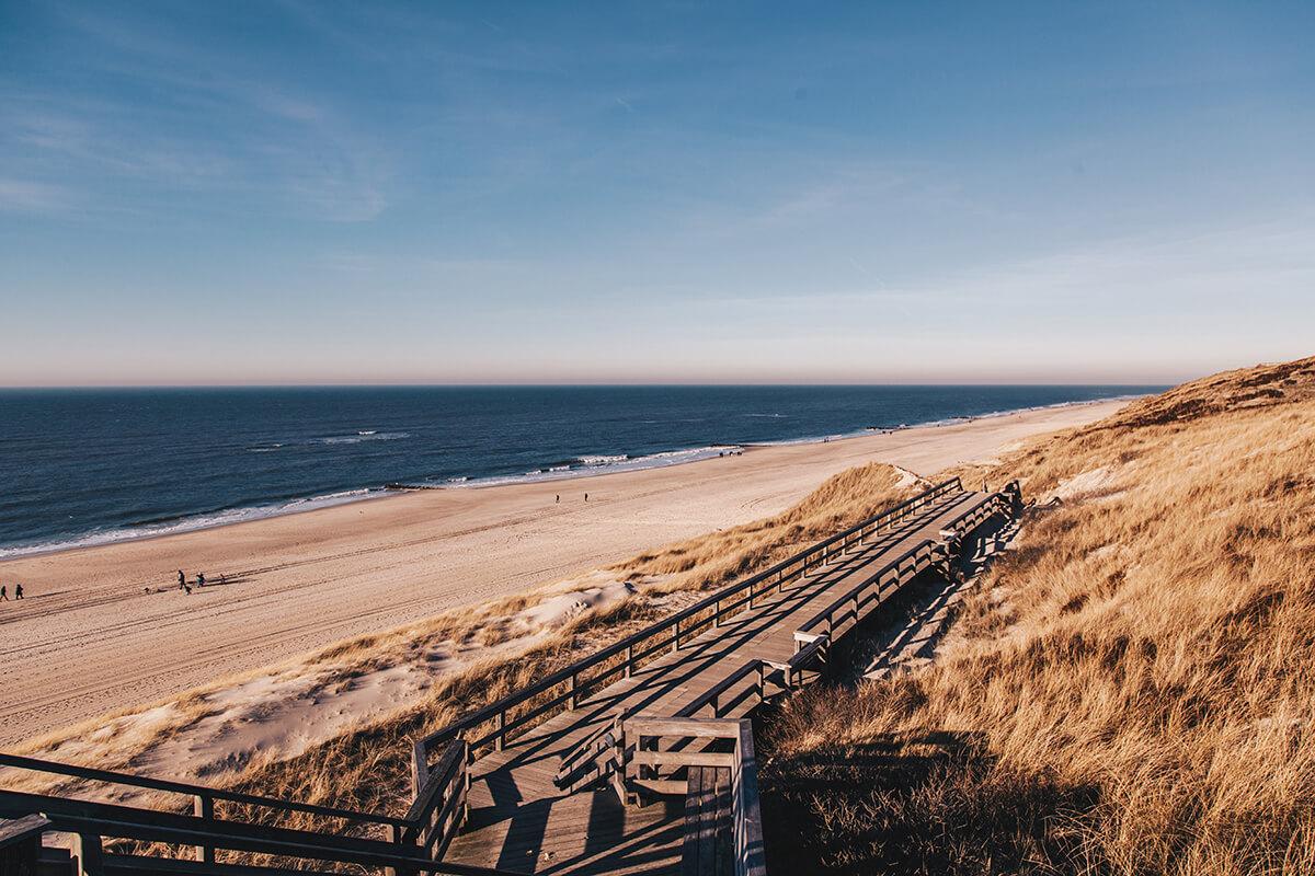 Strandtreppe Wenningstedt