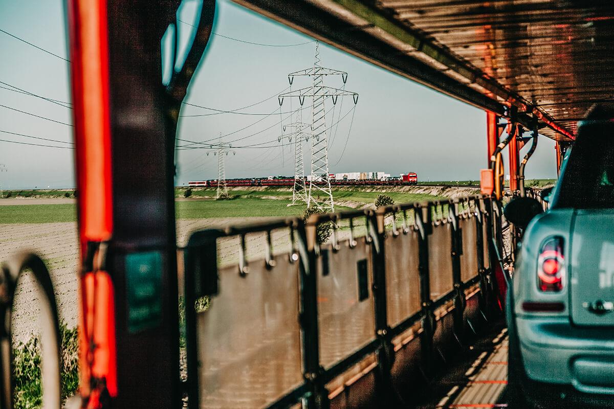 DB Sylt Shuttle Tipps Impressionen Hindenburgdamm Autozug