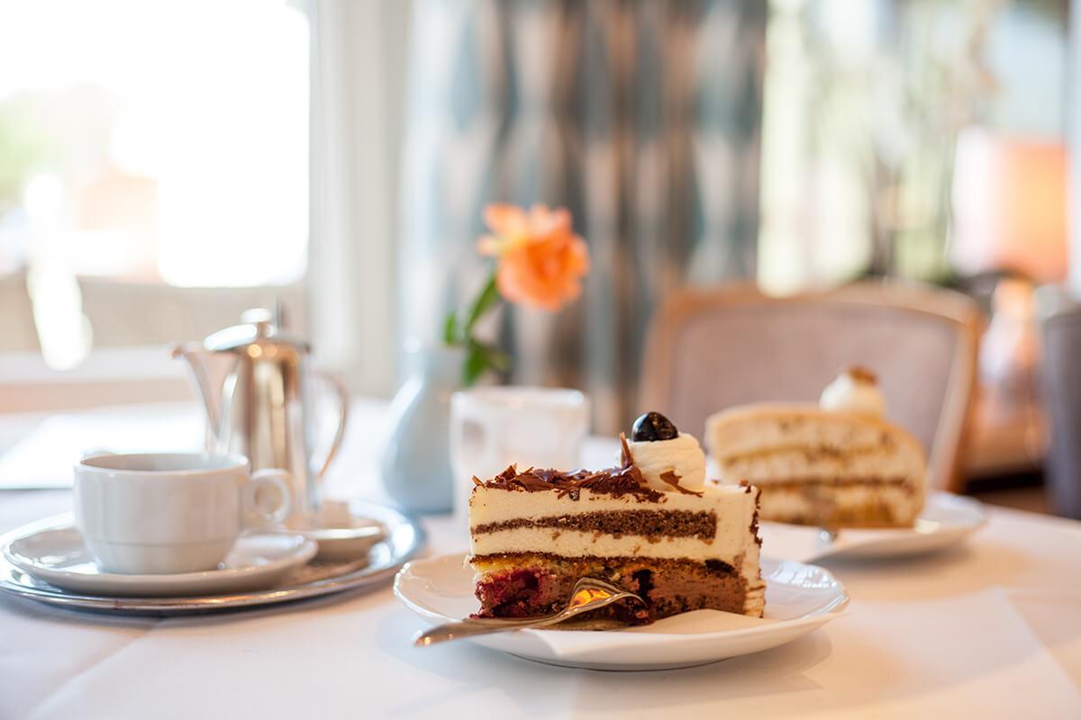 Cafés auf Sylt: Lund in Hörnum, Schwarzwälderkirschtorte